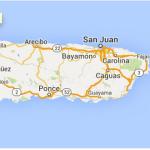 Map Puerto Rico